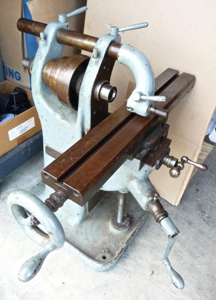 Fs Pratt Amp Whitney Bench Milling Machine