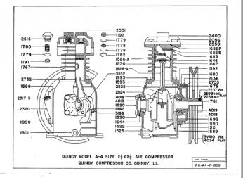 Quincy Model A4 Roc 7 Valve Change