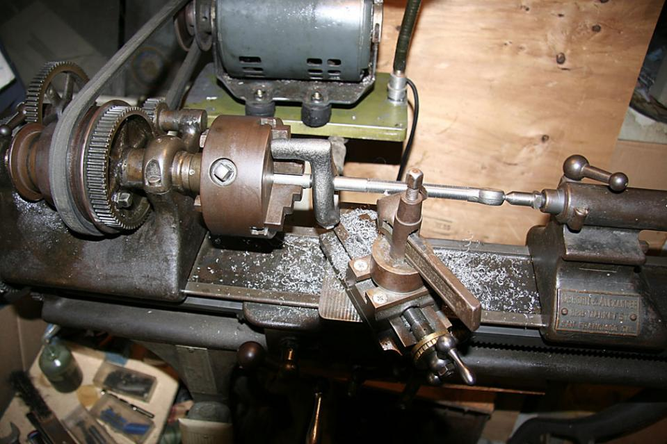 Old Metal Lathe