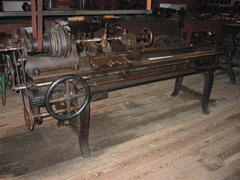Antique Metal Lathe For Sale
