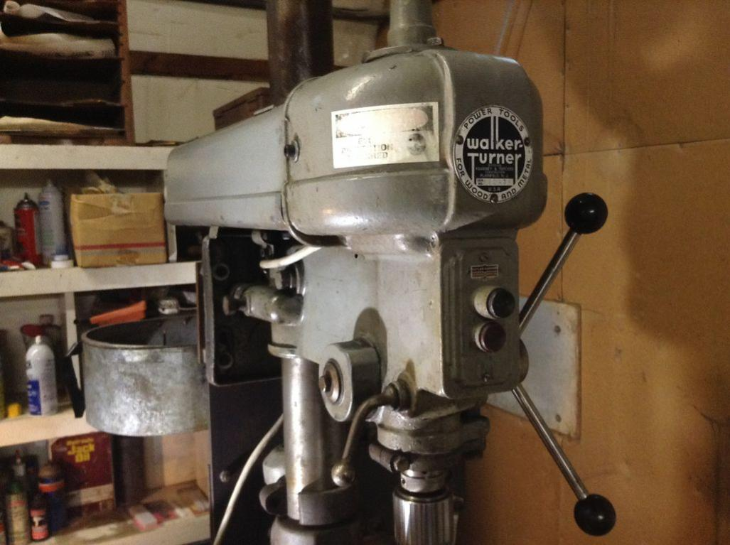 Buying A Walker Turner Drill Press