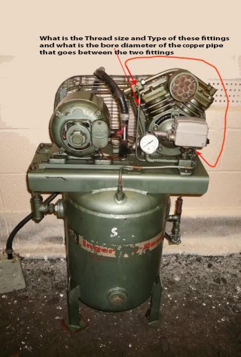 Ingersol Rand Model B Compressor