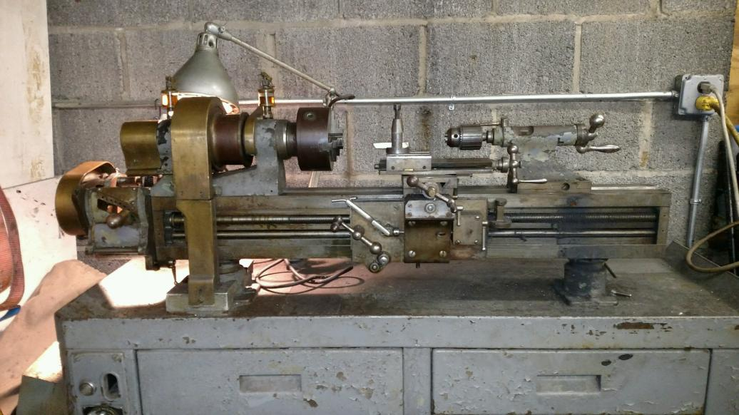 Rivett 608 Lathe For Sale