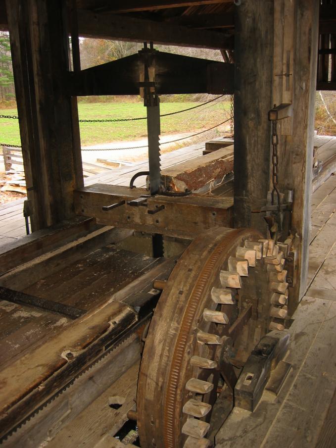 Sawmill Carriage Wheels