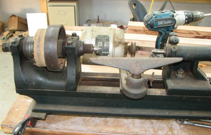 Antique Wood Lathe Value