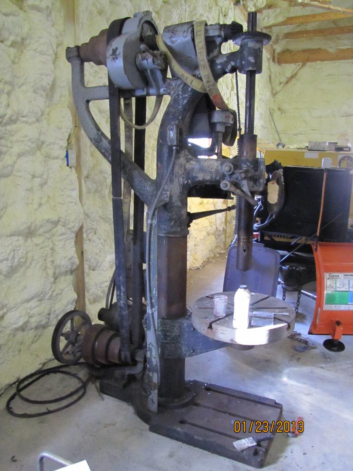 Ohio Forge 5 Speed Drill Press