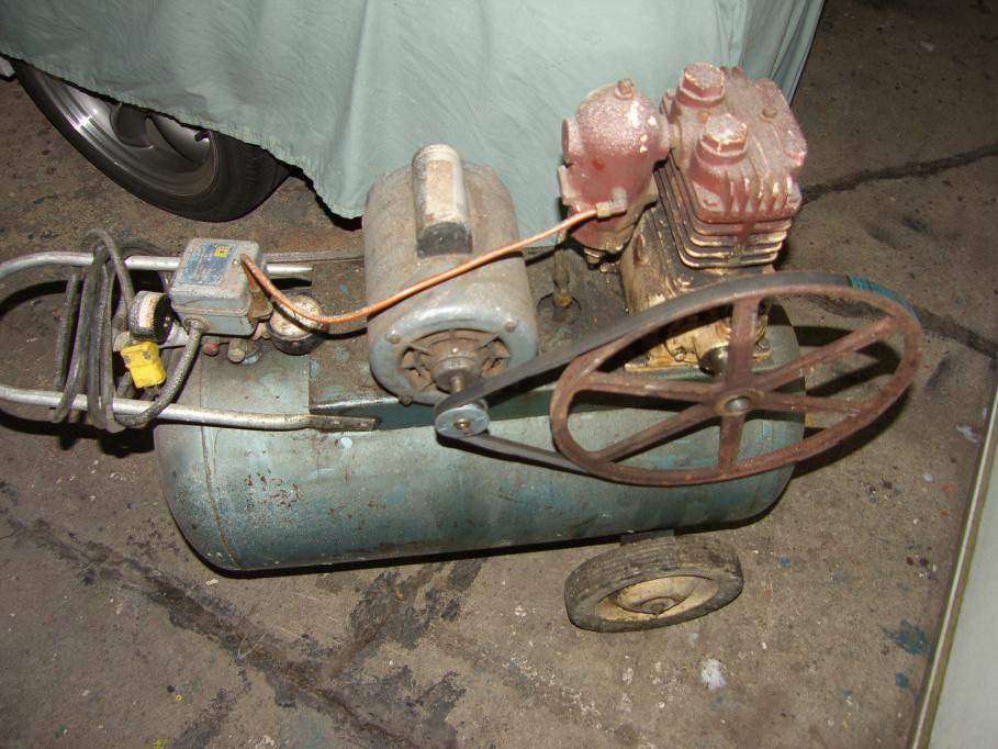 Scrap or repair old EL SMITH portable 20 gallon compressor