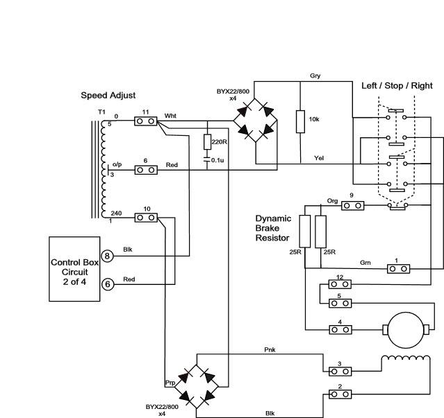 Hardinge HLV-H Power feed rectifier unit.