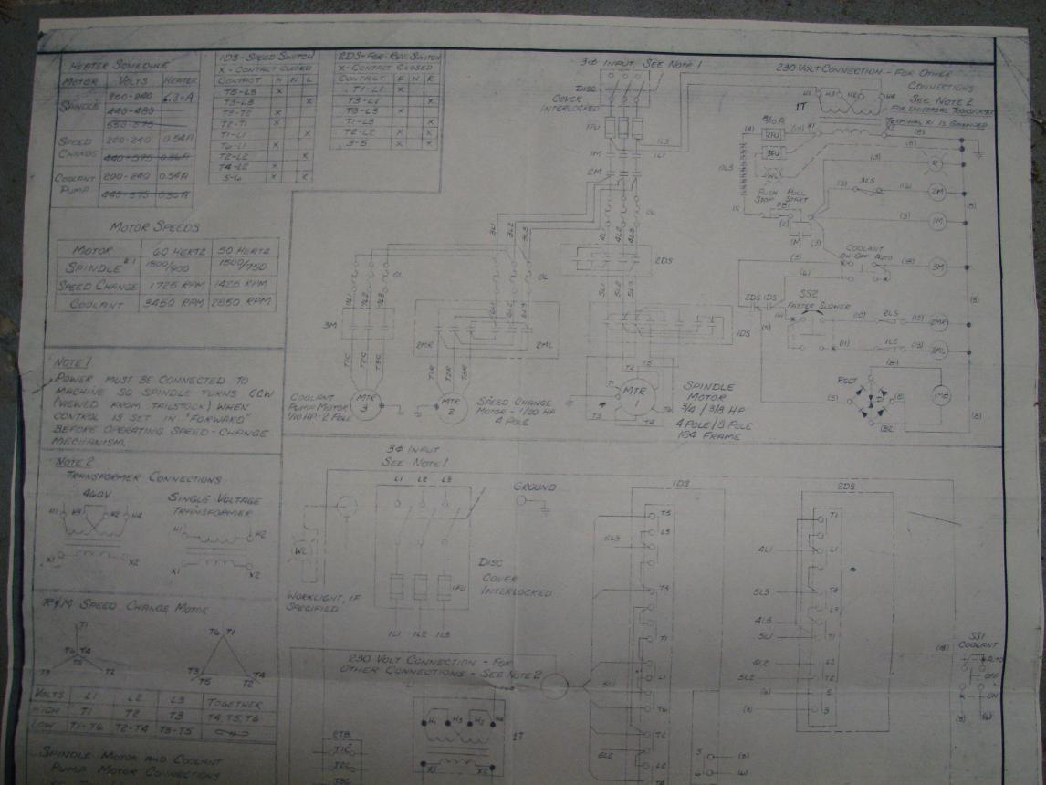 110 Wiring Diagram Hardinge Dv59 Conversion To Vfd Seeking Advise With