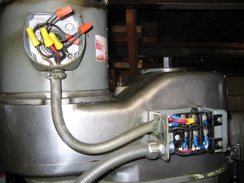 Single Phase 220v Wiring Diagram Just Got My Bridgeport How To Wire It
