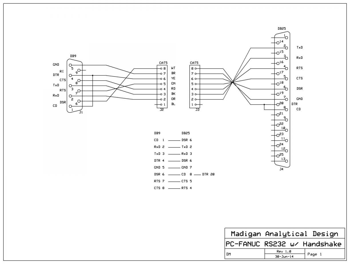 rs232 wiring diagram db9 basic diagrams for lights question on rs 232 25 pin connector