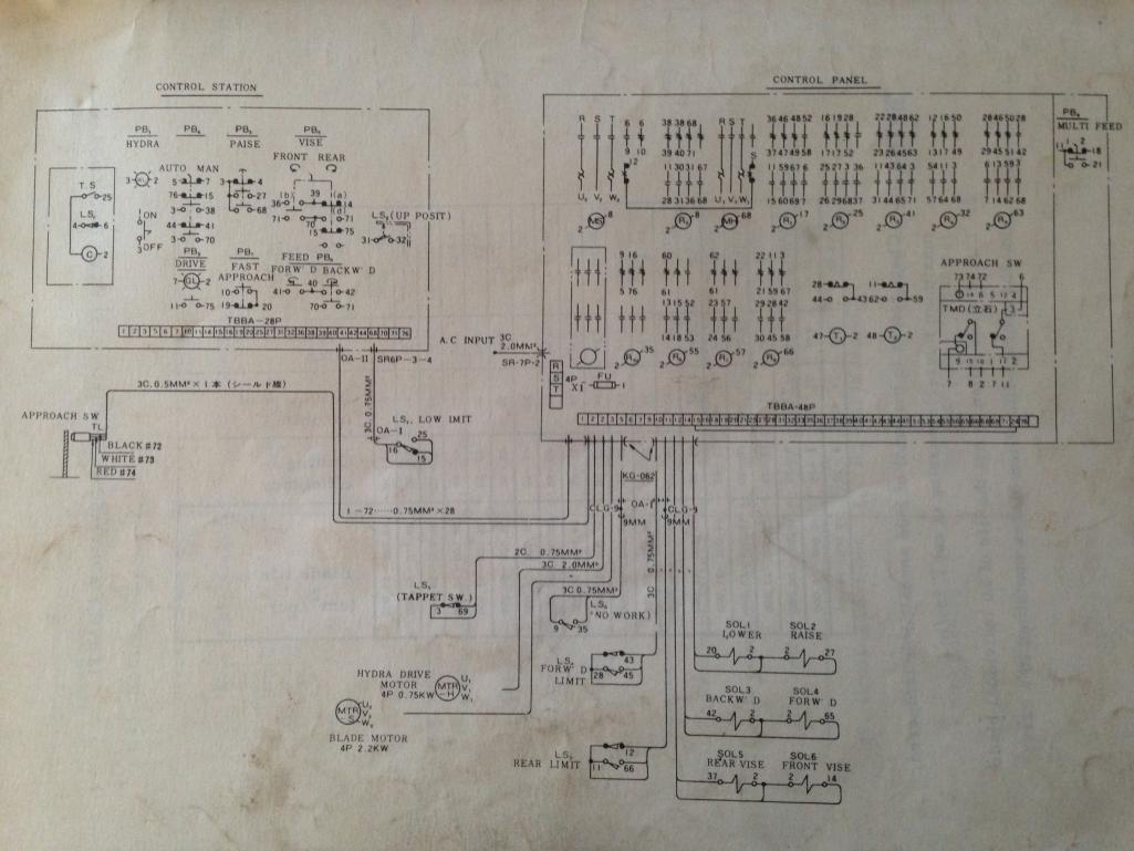 home automation wiring diagram club car carryall gas amada ha-250 - anyone have manuals???