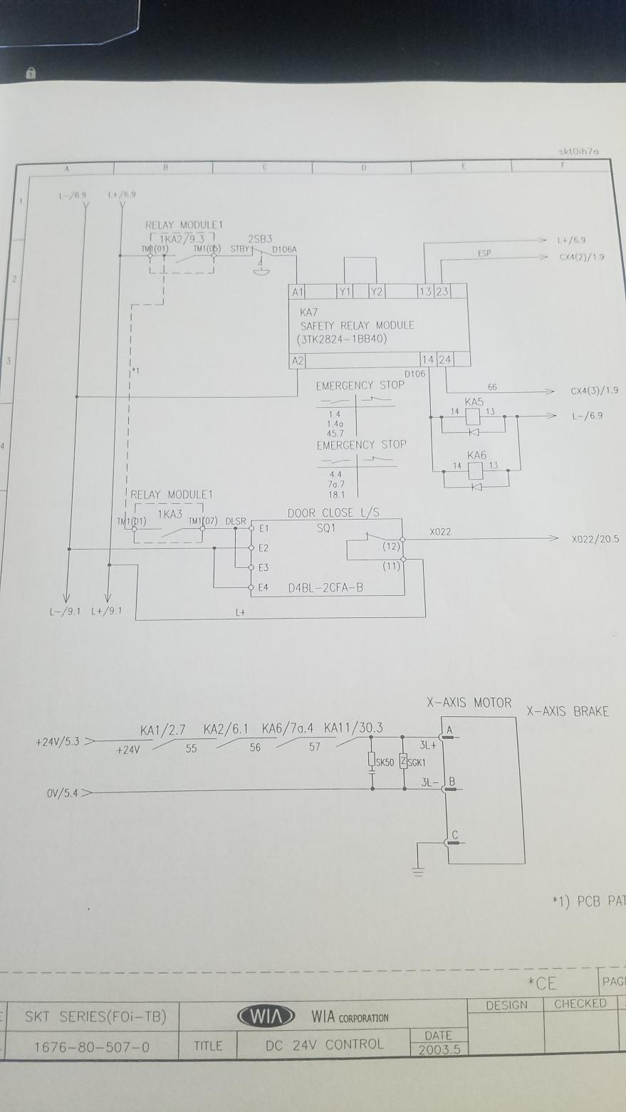 medium resolution of fanuc 0i tb on kia skt21lms 410 servo alarm b axis excess error servo alarm diagram