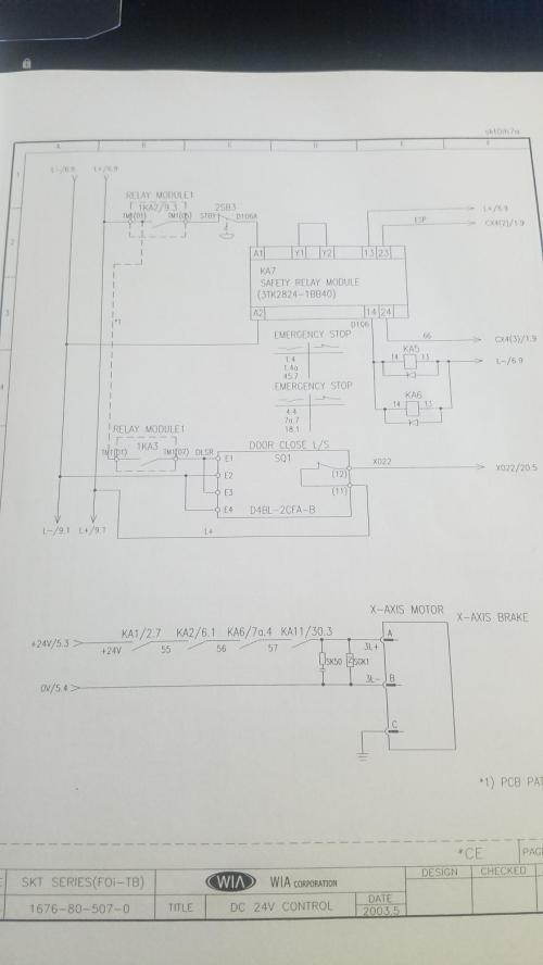 small resolution of fanuc 0i tb on kia skt21lms 410 servo alarm b axis excess error servo alarm diagram