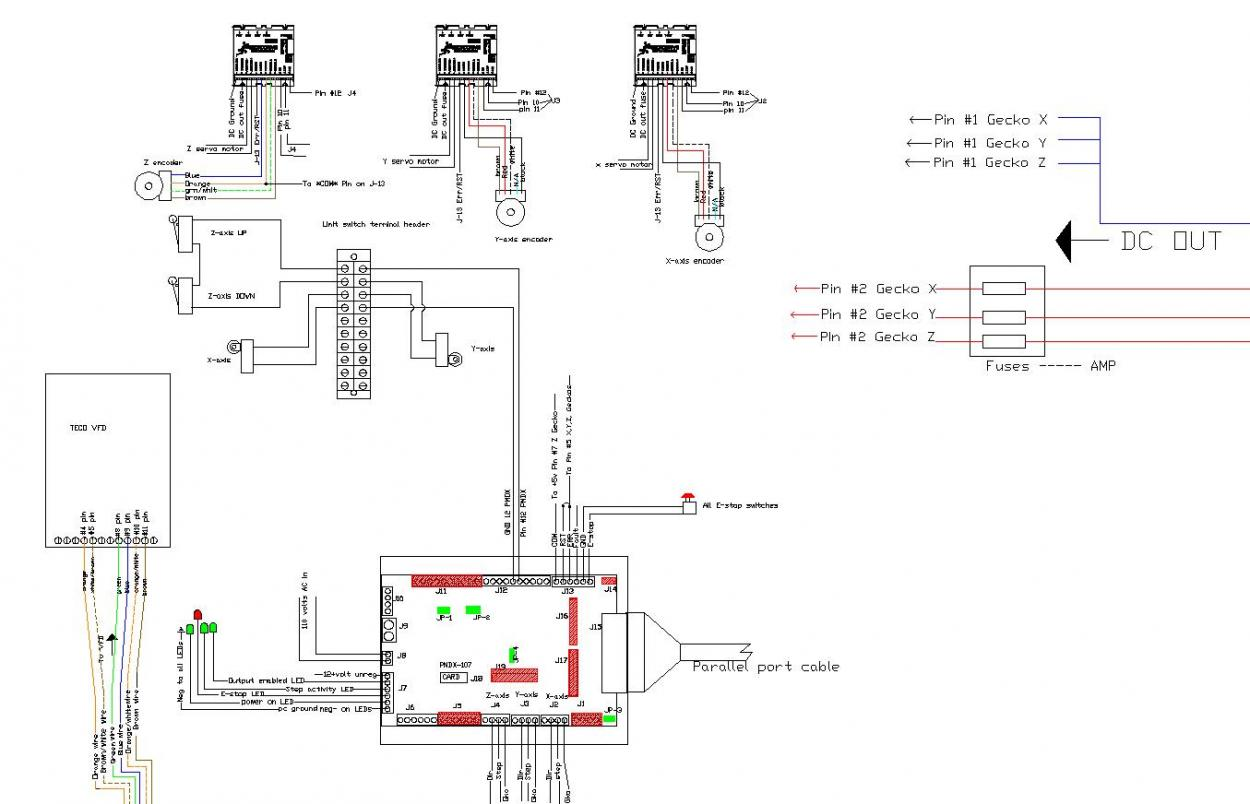servo motor wiring diagram single phase capacitor run of a lathe machine diy woodworking projects