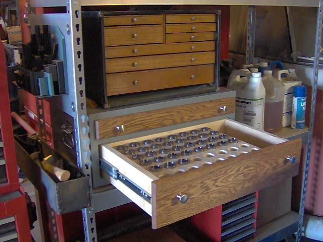 Wood Tool Cabinet