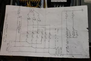 wiring lathe and VFD