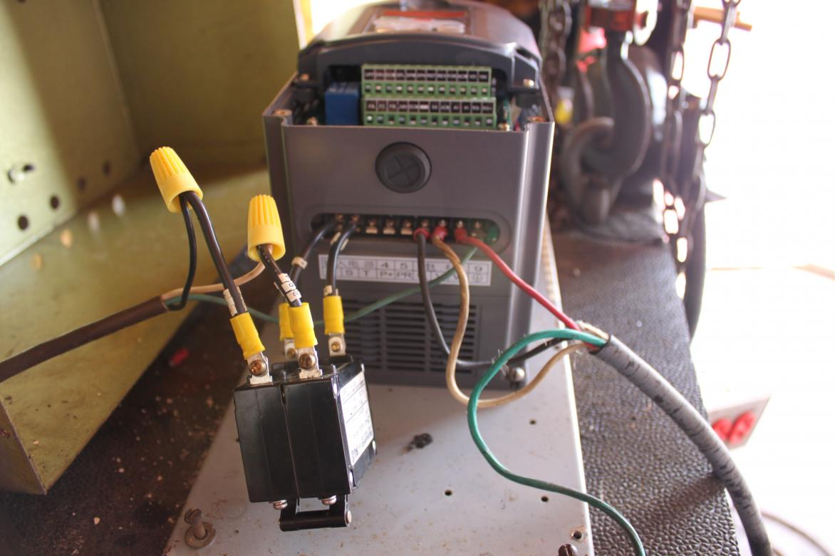 control wiring diagram of vfd johnson outboard key switch potentiometer to huanyang dc elsavadorla