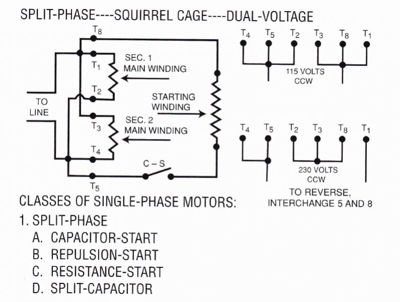 baldor wiring diagram 115 230 2003 ford ranger 115v single phase motor shaded pole ~ elsavadorla