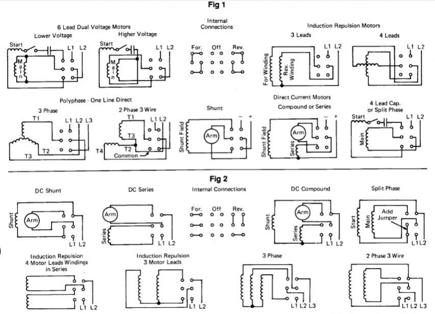 Split Phase Motor Wiring Diagram Wiring Wiring Diagram And
