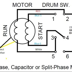 Wiring Diagram 230v Single Phase Motor With Start And Run Ar 15 Lower Parts Kit 9a Motor/drum Switch Help