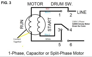 9A motordrum switch wiring help