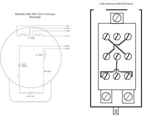 Wiring Help Needed Baldor 5 hp to Cutler Hammer Drum Switch