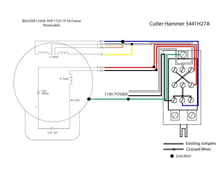 baldor 3 phase wiring diagram