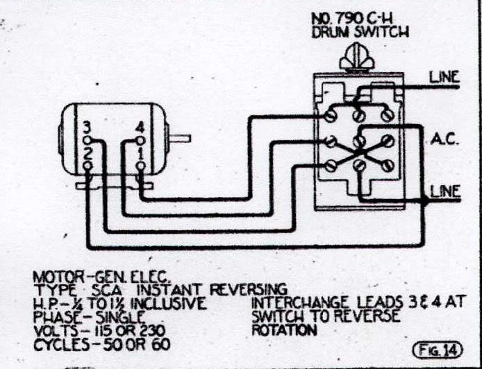 vintage ge fan wiring diagram