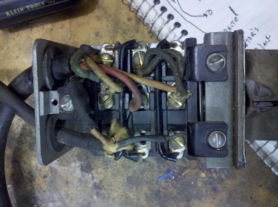Power Cord To Drum Switch With No Wiring Diagram And