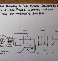 how do i wire up my drum switch 220v single phase wiring diagram for 220 2 pole  [ 1052 x 789 Pixel ]