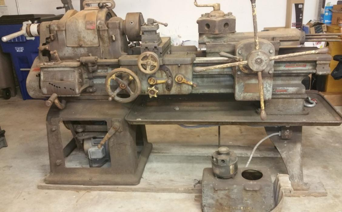 South Bend No 2H Turret Lathe 16x6 Restoration