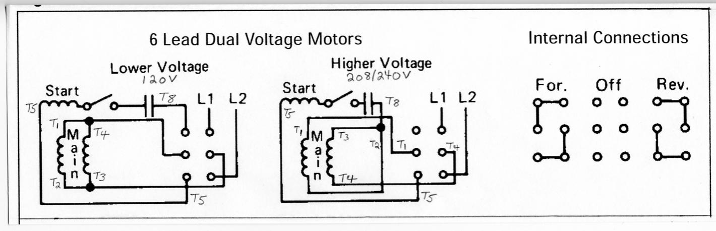 3 Phase Motor Switch Wiring Diagram