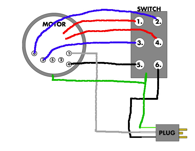 Electric Motor Motor Run Capacitor Wiring Diagram