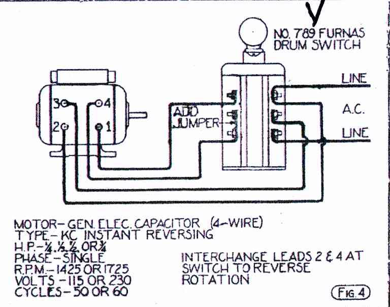 reversing drum switch wiring diagram sony deck what kind of motor is this? - electrician talk professional electrical contractors forum