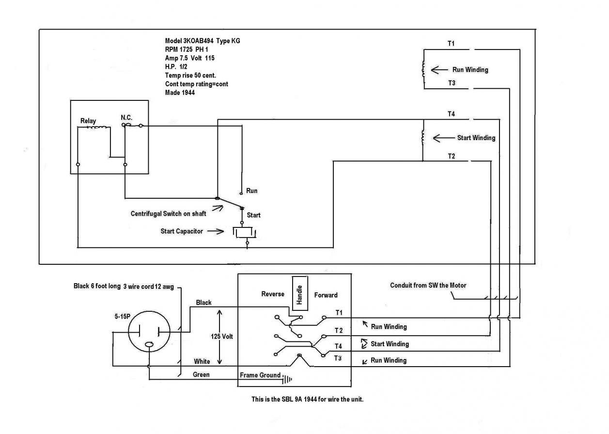 Ajax Electric Motor Wiring