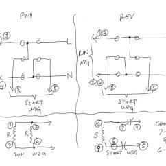 Wiring Diagram For Capacitor Start Motor Activity Library Management System Help Me Wire This With Photos Toshiba 110 Jpg