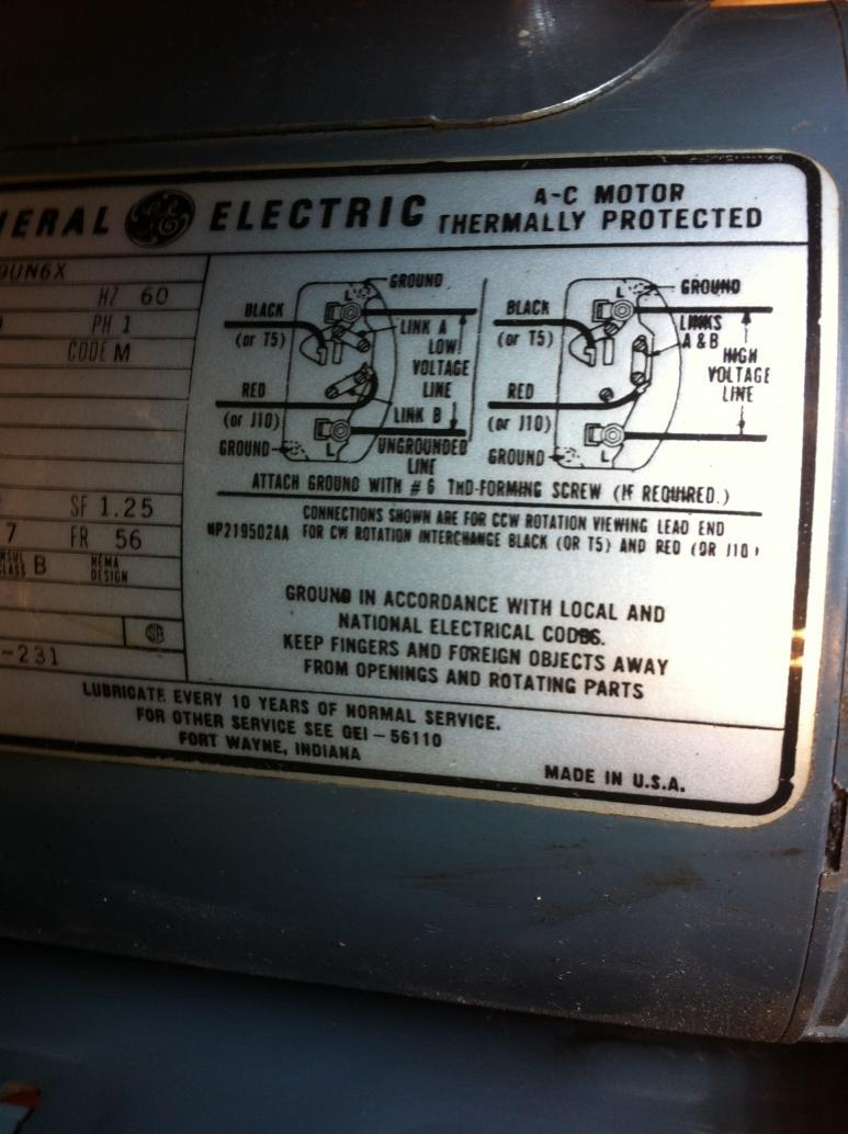 Ge Motor Wiring | Wiring Diagram on