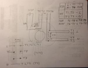 FS: Original motor for 10 Heavy 34 HP, Wiring diagram for