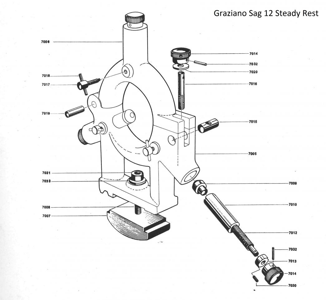 hight resolution of  sag 12 steady rest parts diagram jpg