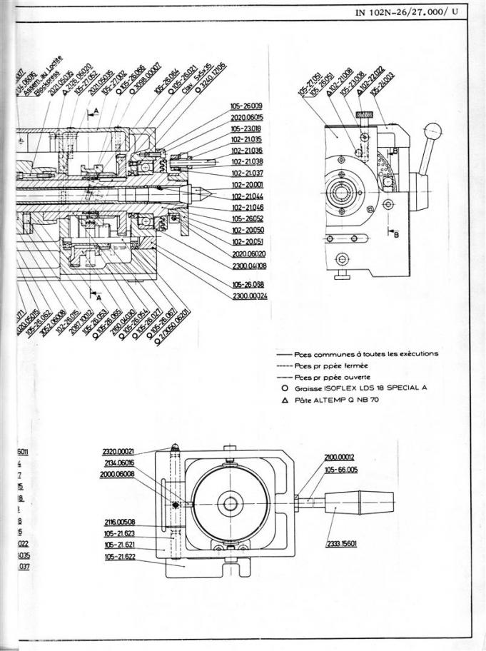 Schaublin 102N spindle bearing maintenance?