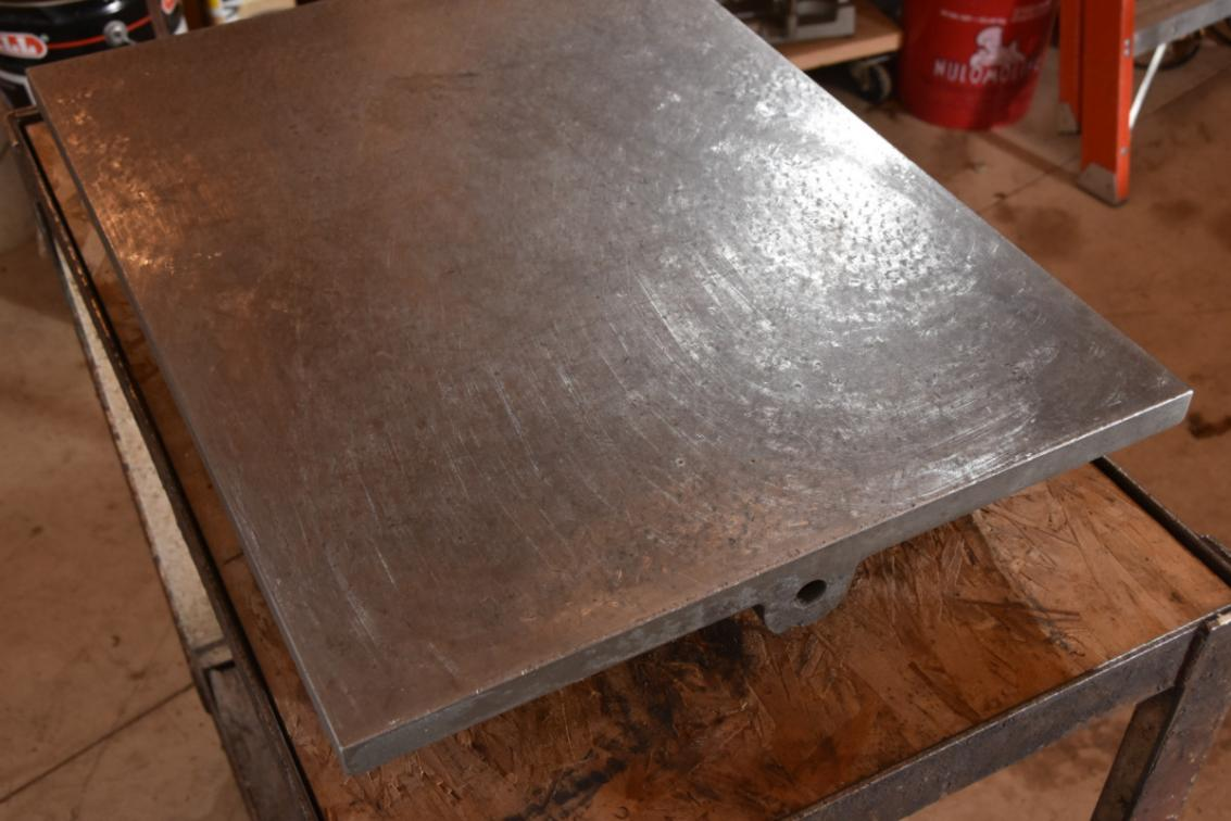 WTB Cast iron surface plate