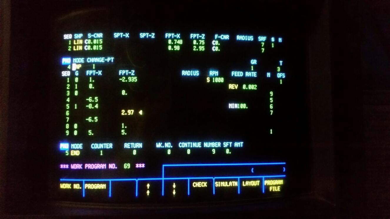 Mazak TPlus EiaIso GCode Programming Questions