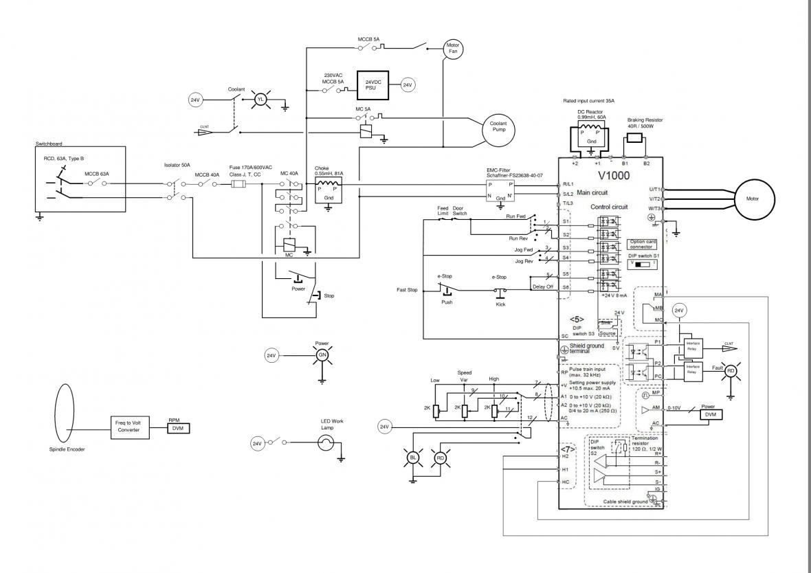 frequency drive wiring diagram for smeg cooker 3 phase ac get free image about