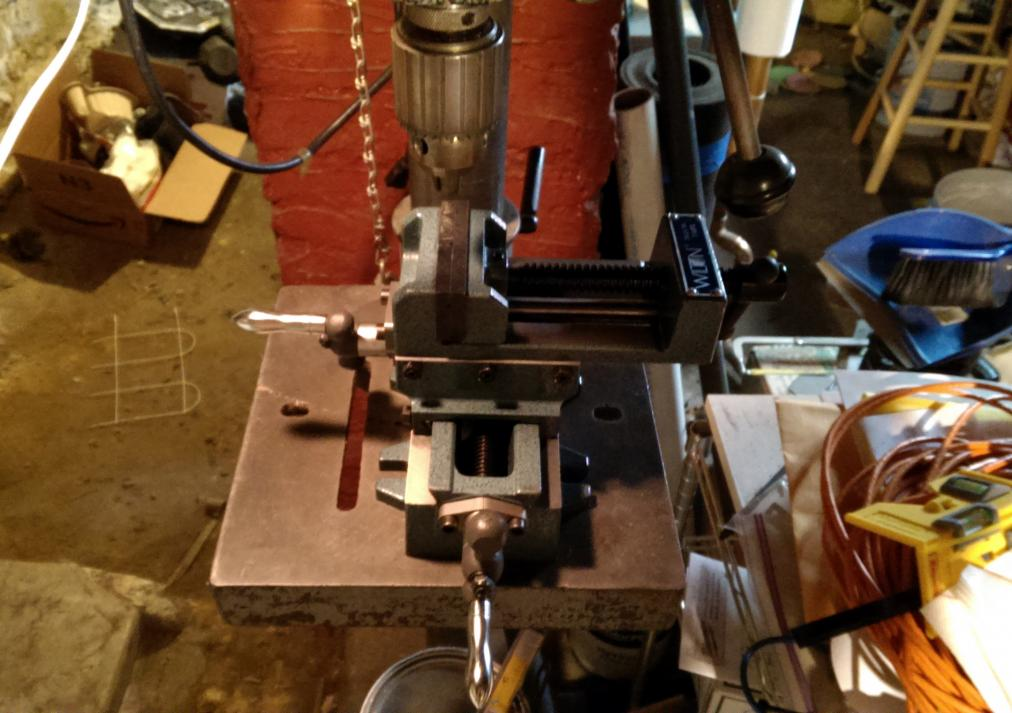 Mount Drill Press Table