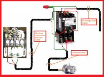 magnetic contactor wiring diagram single phase magnetic single phase contactor wiring diagram single image on magnetic contactor wiring diagram single phase