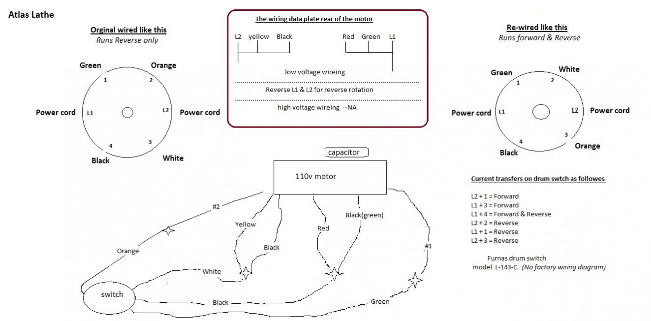 hight resolution of atlas lathe furnas drum switch wiring diagram jpg