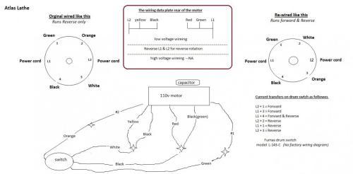 small resolution of atlas lathe furnas drum switch wiring diagram jpg