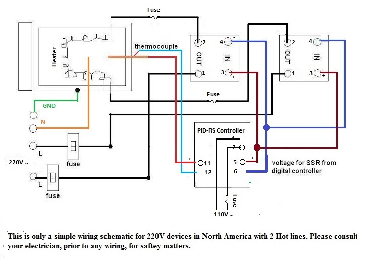Pid Controller Smoker Wiring Diagram Ot Building My Own Ssr Controlled Thermostat