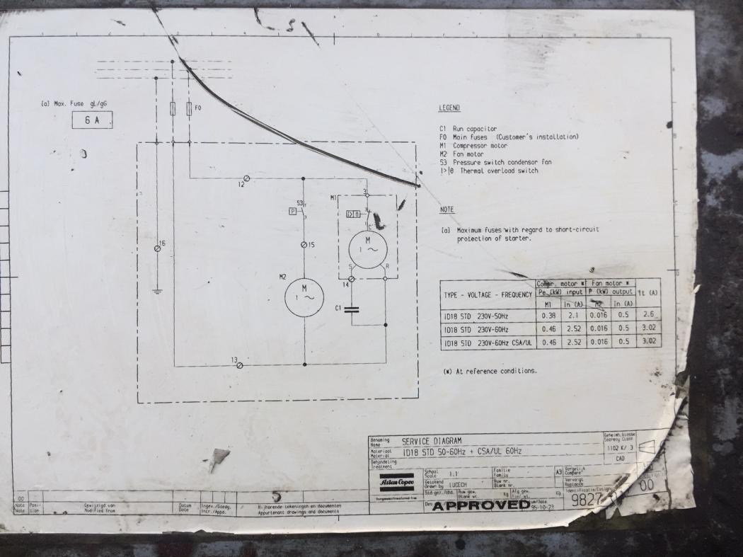 Atlas Copco Compressor Wiring Diagram | Wiring Schematic ... on